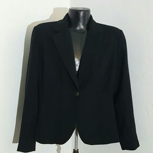 Chicos platinum women full lining blazer black